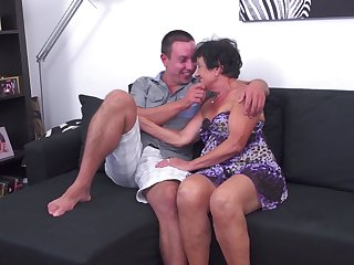 Sexy MILF Hanna D. gets rammed in a couple of different positions