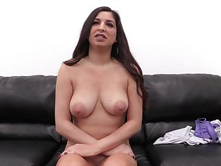 Be in charge brunette MILF Alexa first time anal on transmitted to casting couch