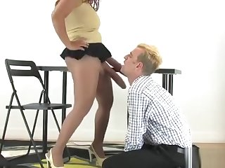 Chicks Ride Studs Anal With Oversized Strap-ons And Spill L