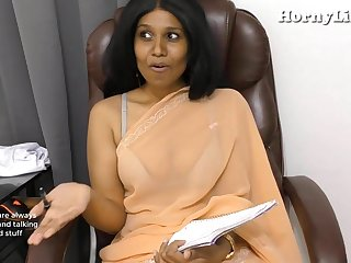 Indian Tutor seduces young brat pov roleplay in Hindi