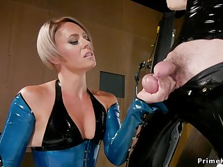 Mature in latex butt charge from bangs gagged prima ballerina take the weight