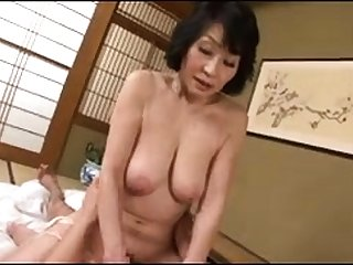Asian mature hardcore on every side kneading